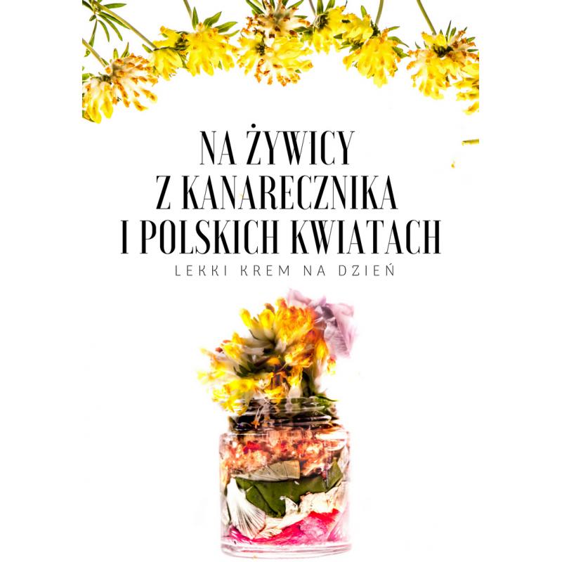 Krem Na Żywicy Z Anarecznika I Polskich Kwiatów
