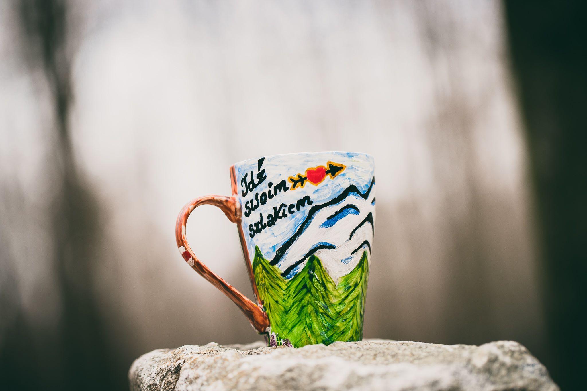 Szafran – ręcznie zdobiona porcelana
