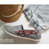 Naszywka Vintage Roses in Pink 2