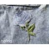 Zestaw naszywek Błękitne Róże - Lustrzane Odbicie 3
