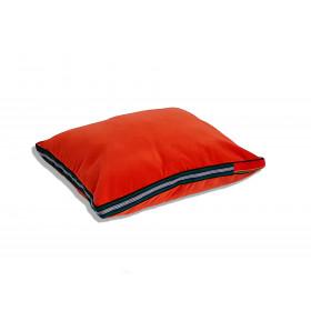 Duża poduszka folk glamour aksamit (Czerwony)