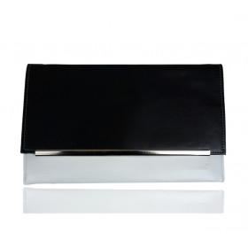 Kopertówka Koperta MANZANA black & white (m022)