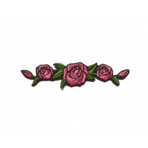 Naszywka Vintage Roses in Pink