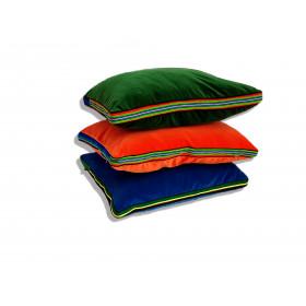 Zestaw energetyczny aksamitnych poduszek folk glamour