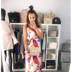 Manzana Sukienka Maxi Kwiaty Letnia