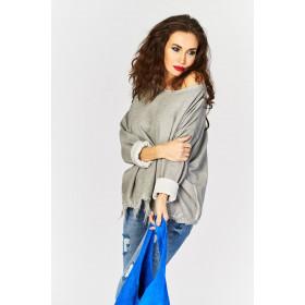 Sweterek One Size Frędzle Kolory Nowa Kolekcja