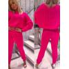 Sweterkowy Zestaw Neonowe Kolory Komplet Dres 2