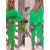 Sweterkowy Zestaw Neonowe Kolory Komplet Dres 3