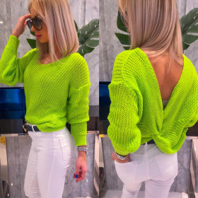 Sweter Pastel  Neonowy Kolory Roz Uni