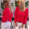Sweter Pastel  Neonowy Kolory Roz Uni 5