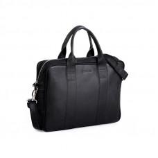Biznesowa czarna męska torba na laptopa