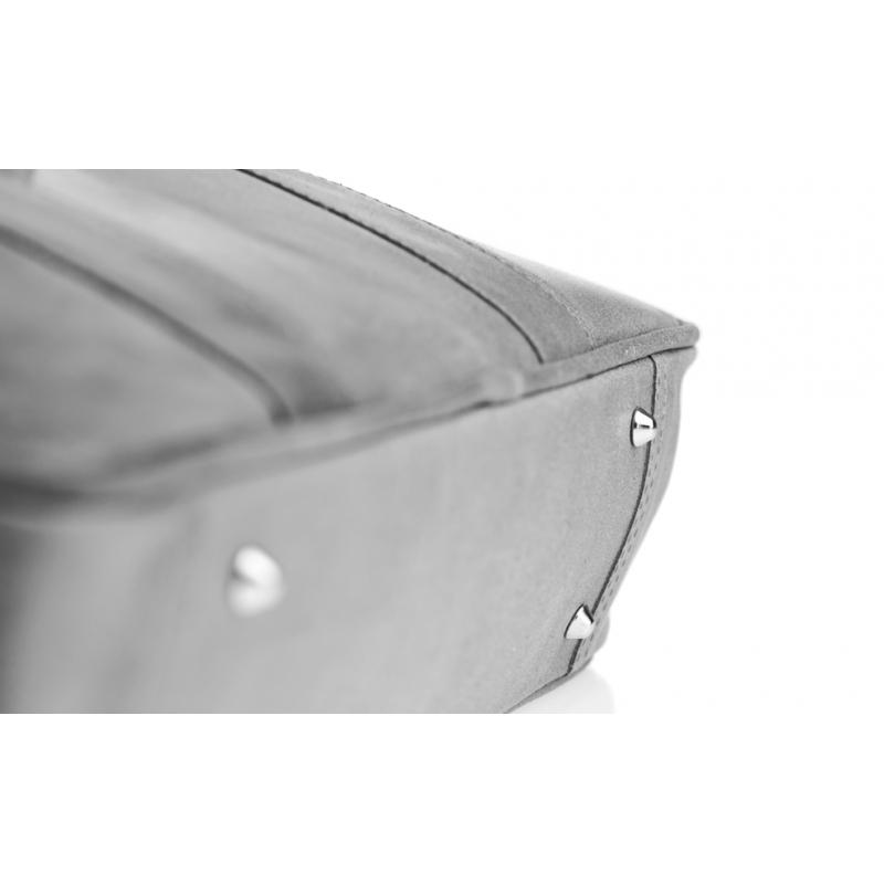 97bac1e132142 Kup Biznesowa szara męska torba na laptopa - Polskie Produkty - POLPOL