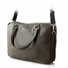 Brązowa męska torba na laptopa