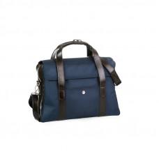 Granatowa  torba męska biznesowa