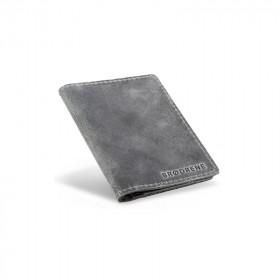 Skórzany cienki portfel sw01