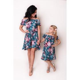 Komplet Sukienek Hiszpanek Mama i Córka LM42