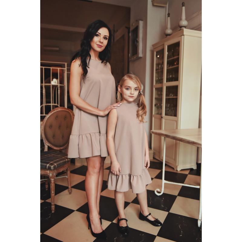 df0b9cadcb Kup Komplet Sukienek Mama i Córka LM41 • POLPOL