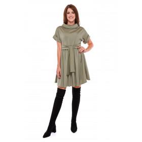 Sukienka damska ONE SIZE LM26/3 (zieleń khaki)