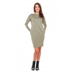 Sukienka damska tuba LM24/2 (zieleń khaki)