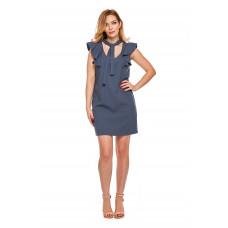 Sukienka dla mamy LM10/1 Niebieska