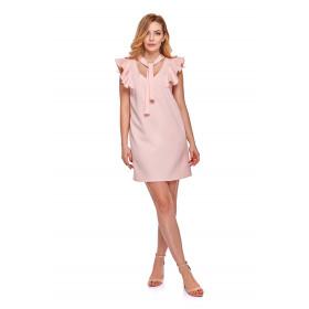 Sukienka dla mamy LM10/3 różowa