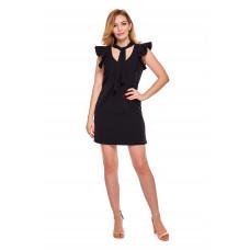 Sukienka dla mamy LM10/4 czarny