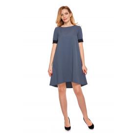 Sukienka dla mamy LM12/1 Niebieska