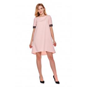 Sukienka dla mamy LM12/3 różowa