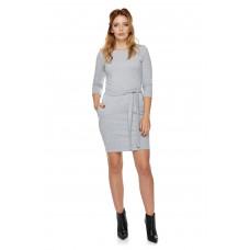 Sukienka dla mamy LM6/2 jasno-szary