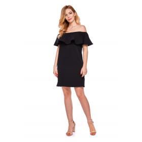 Sukienka hiszpanka dla mamy LM9/4 czarny