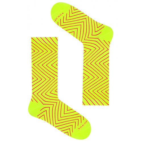 Kolorowe skarpetki Takapara - Neonowa 90m4