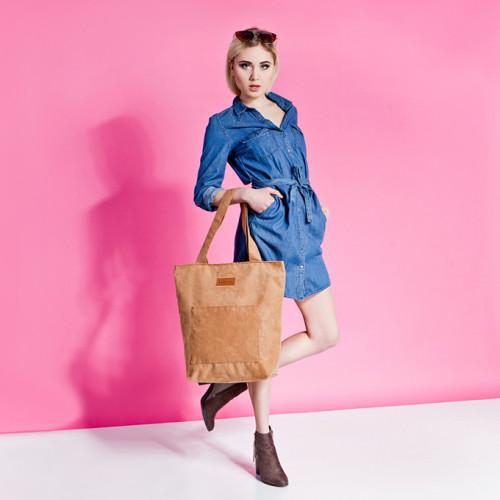Duża torba Mili Chic MC4 – camel