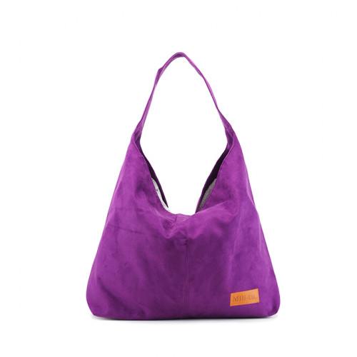 Duża torba worek Mili Chic MC7 –fioletowa