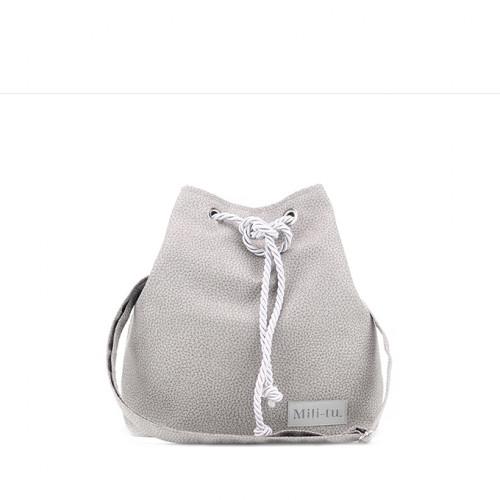 Mała torba - worek Mili Chic MC8 –szara