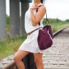 Mała torba - worek Mili Chic MC8 –burgund 4