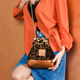 Mała torebka Mili Glam Bag 2- panterka