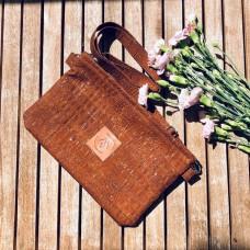 Mała torebka z korka Mili Corco Bag -  brąz