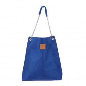 Torba worek na łańcuszku  Mili Chic MC5 –niebieska