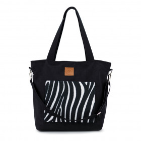 Torba shopper Mili Chic MC6 – zebra