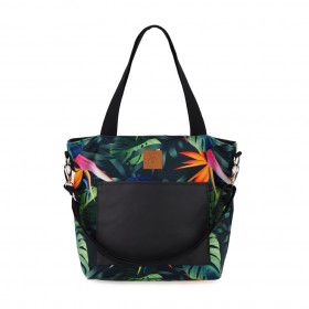 Torba shopper Mili Chic MC6 – monstera