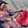 Duża torba worek  Mili Chic MC7 –czerwona 3