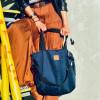 Duża torba typu shopper Mili Duo MD2 - granatowa 8