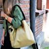 Duża torba typu shopper Mili Duo MD2 - złota 2