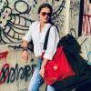 Plecak torba Mili Funny Bag – czerwony 2