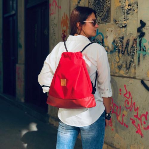 Plecak torba Mili Funny Bag – czerwony