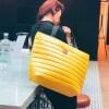 Torba typu shopper Mili City Glow- żółta 4