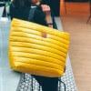 Torba typu shopper Mili City Glow- żółta 2