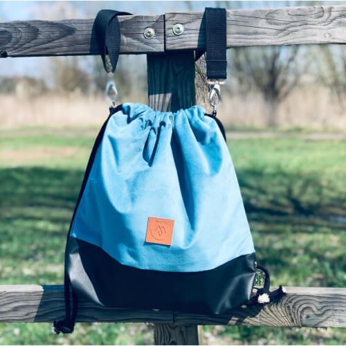 Plecak torba Mili Funny Bag – turkus