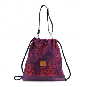 Plecak torba Mili Funny Bag – fioletowy