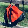 Plecak torba Mili Funny Bag – miedziana pomarańcza 4
